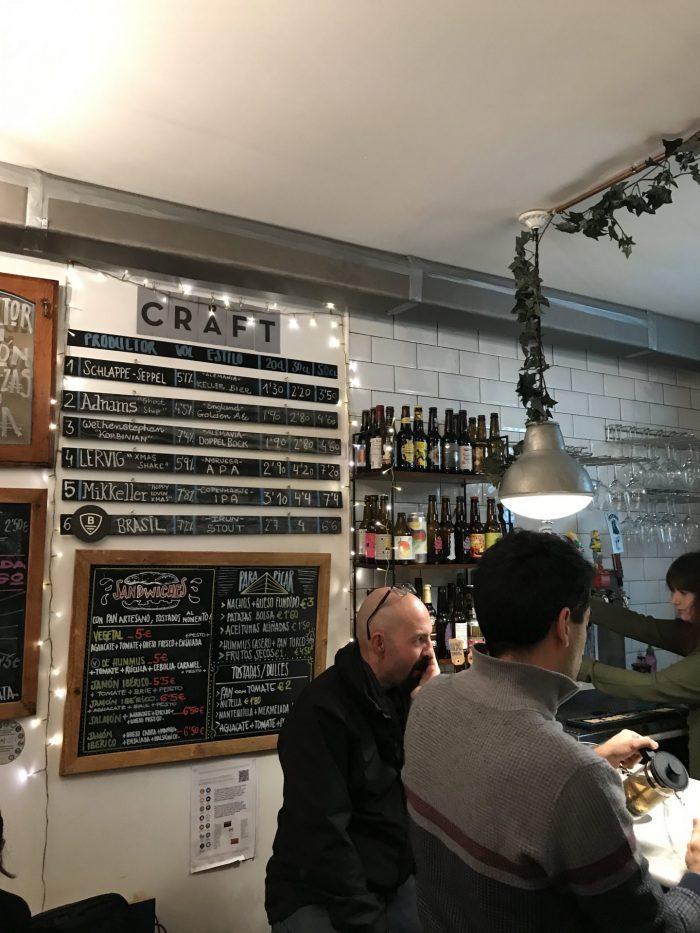 bihotz beer bar bilbao 700x933 - 4 great places for craft beer in Bilbao, Spain