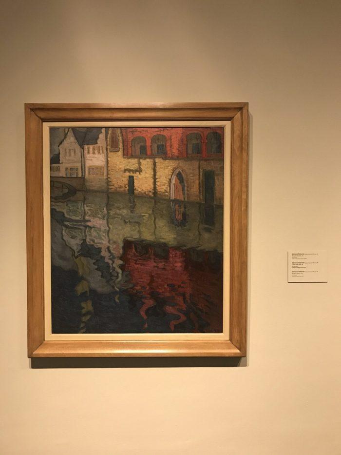 bruges canal julian de tellaeche 700x933 - Bilbao Fine Arts Museum