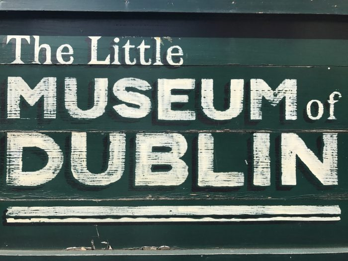 little museum of dublin sign 700x525 - The Little Museum of Dublin - An excellent people's history of 20th century life in Dublin