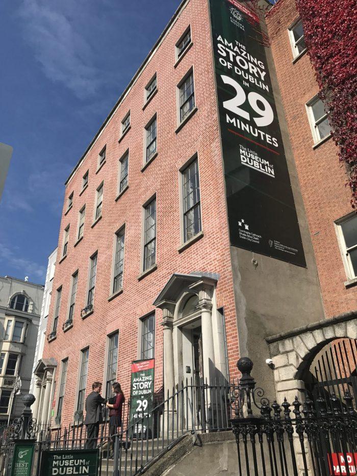 little museum of dublin st stephens green 700x933 - The Little Museum of Dublin - An excellent people's history of 20th century life in Dublin