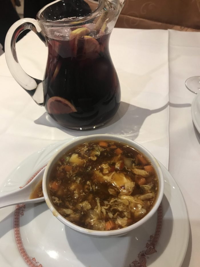 new years bilbao sangria hot sour soup 700x933 - New Year's Eve in Bilbao, Spain