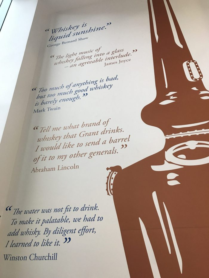 pearse lyons distillery whiskey quotes 700x933 - Pearse Lyons Distillery tour & tasting in Dublin, Ireland