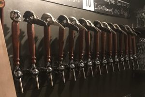 penguin bar bilbao tap handles 300x200 - 4 great places for craft beer in Bilbao, Spain