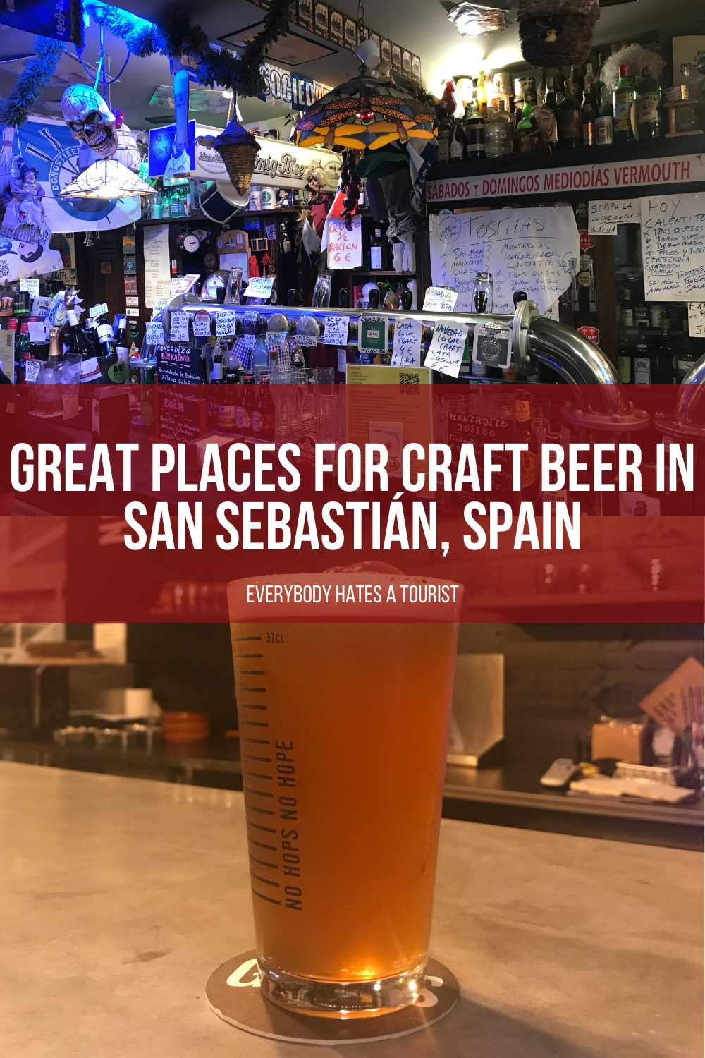 Great places for craft beer in San Sebastián Spain - 12 great places for craft beer in San Sebastián, Spain