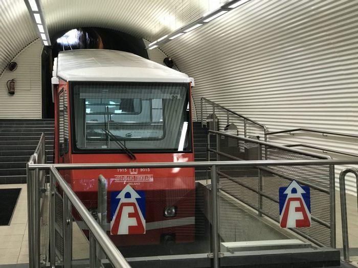 bilbao funicular de artxanda 700x525 - Funicular de Artxanda in Bilbao, Spain