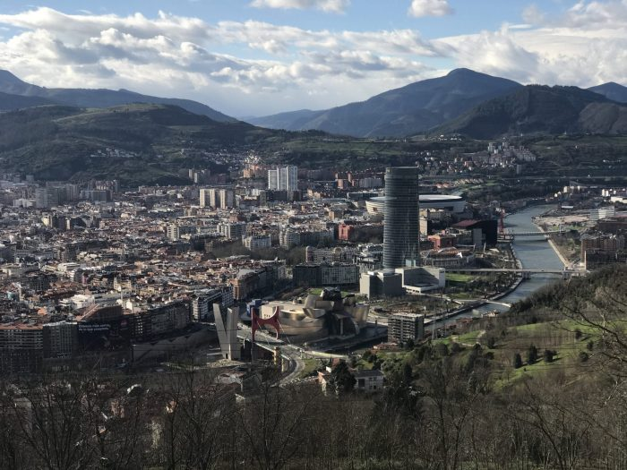 bilbao spain view from mirador de artxanda 700x525 - Funicular de Artxanda in Bilbao, Spain