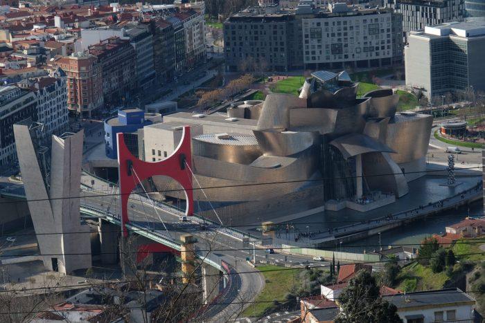 guggenheim museum bilbao 700x467 - Funicular de Artxanda in Bilbao, Spain