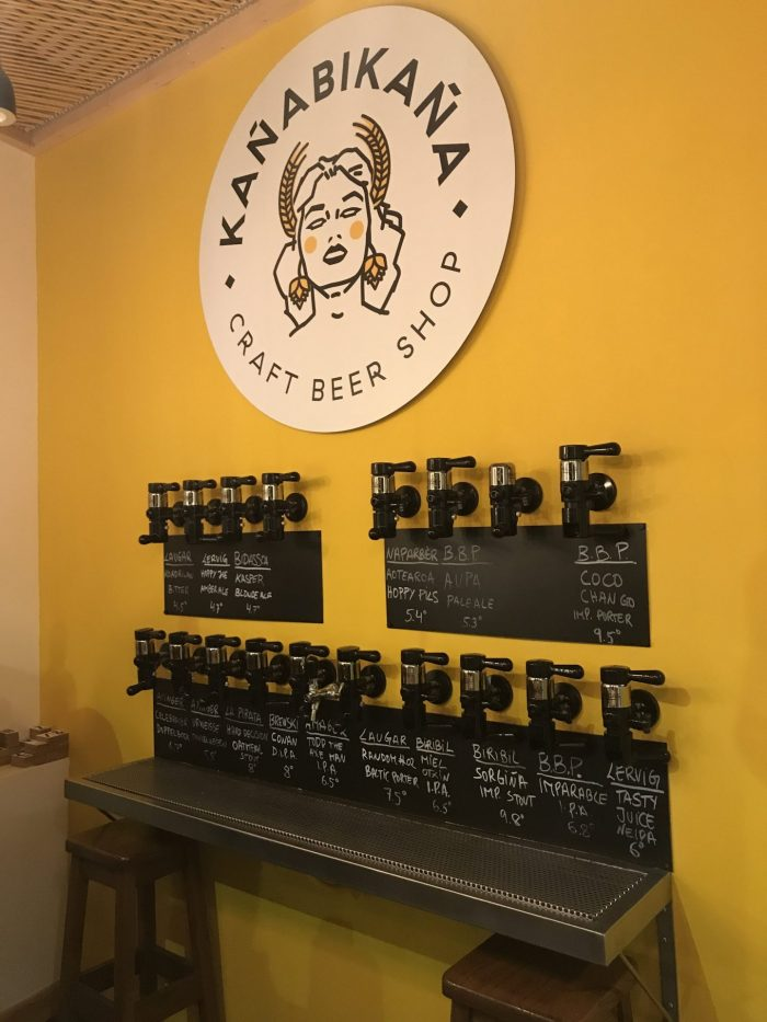 kanabikana san sebastian craft beer 700x933 - 12 great places for craft beer in San Sebastián, Spain