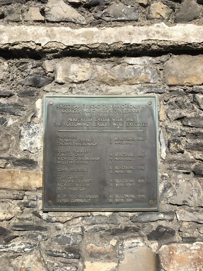 kilmainham gaol 1916 rising executions 700x933 - Kilmainham Gaol - Dublin, Ireland's famous prison & historic site