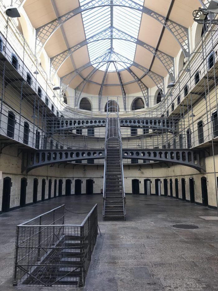 kilmainham gaol main hall 700x933 - Kilmainham Gaol - Dublin, Ireland's famous prison & historic site