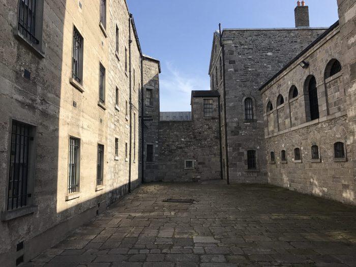 kilmainham gaol prison yard 700x525 - Kilmainham Gaol - Dublin, Ireland's famous prison & historic site