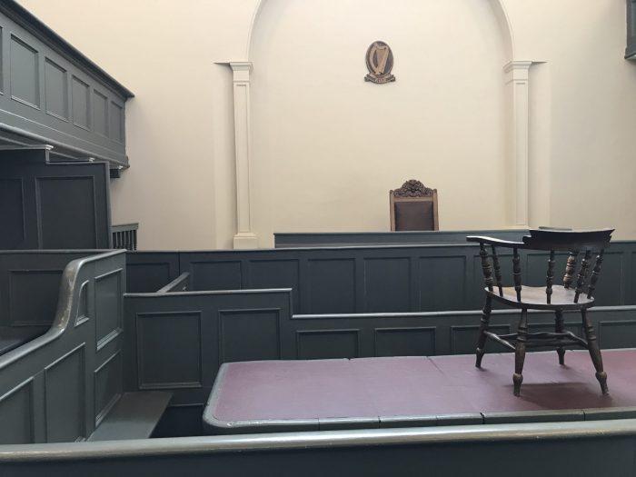 kilmainham gaol tour courthouse 700x525 - Kilmainham Gaol - Dublin, Ireland's famous prison & historic site
