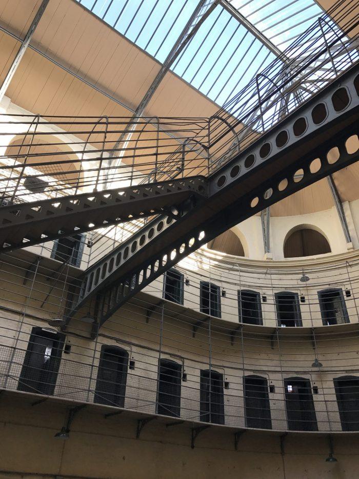 main hall kilmainham gaol 700x933 - Kilmainham Gaol - Dublin, Ireland's famous prison & historic site