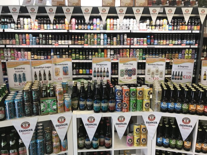 molloys liquor store dublin craft beer 700x525 - 19 great places for craft beer in Dublin, Ireland