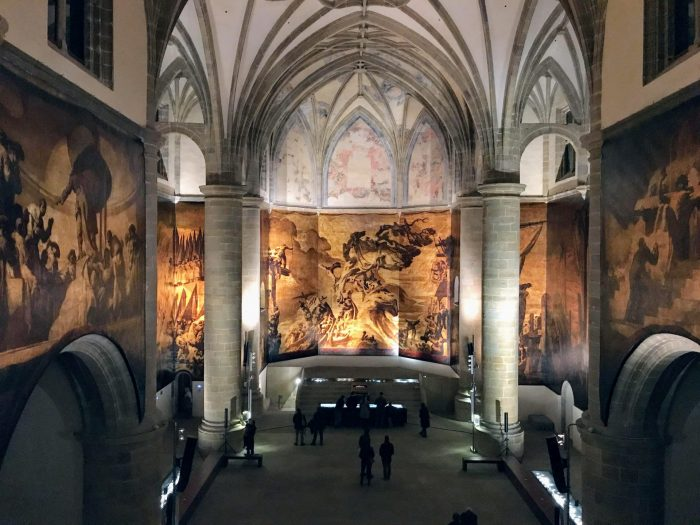 museum san telmo monastery san sebastian 700x525 - San Telmo Museum in San Sebastián, Spain