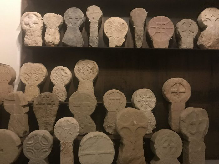 steles funeral monuments san telmo museum 700x525 - San Telmo Museum in San Sebastián, Spain