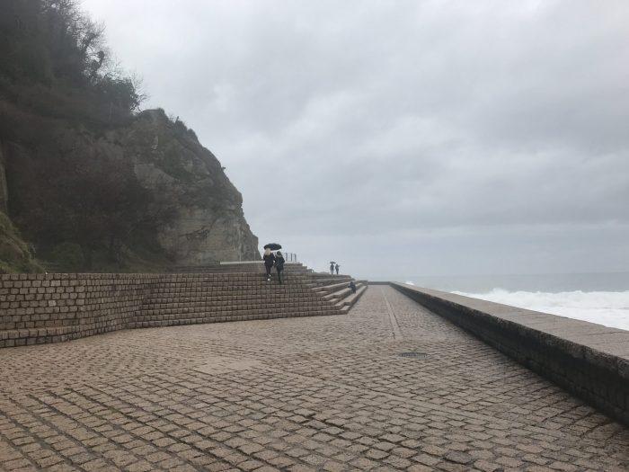 comb of the wind amphitheater 700x525 - A walk along the San Sebastian promenade to Chillida's Comb of the Wind