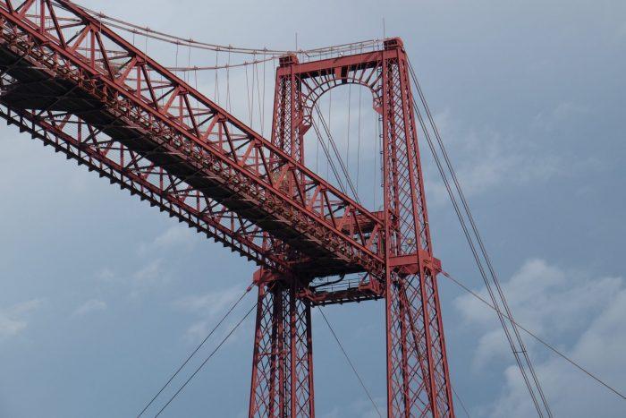 puente colgante 700x467 - The historic Vizcaya Bridge in Bilbao, Spain