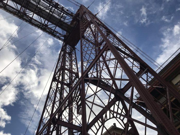 puente colgante spain 700x525 - The historic Vizcaya Bridge in Bilbao, Spain