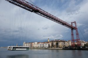 vizcaya bridge 300x200 - The historic Vizcaya Bridge in Bilbao, Spain