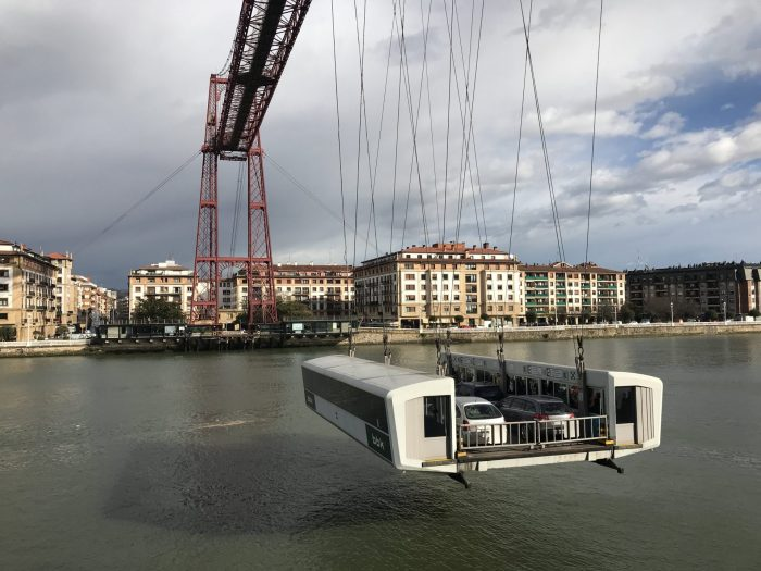vizcaya bridge spain 700x525 - The historic Vizcaya Bridge in Bilbao, Spain