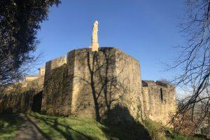 la mota castle monte urgull 300x200 - Monte Urgullin San Sebastian, Spain