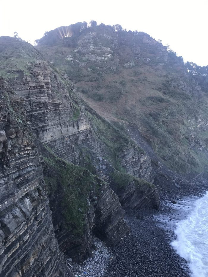 san juan de gaztelugatxe cliffs flysch 700x933 - A day trip to San Juan de Gaztelugatxe AKA Dragonstone from Game of Thrones