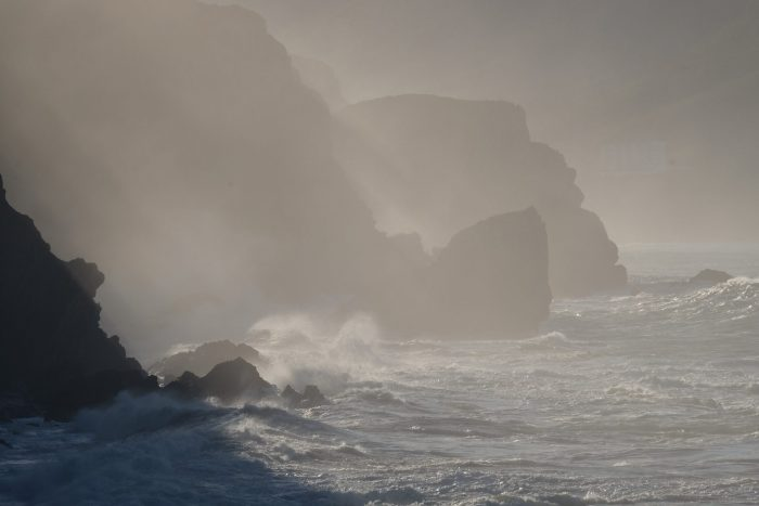 spanish coast mist 700x467 - A day trip to San Juan de Gaztelugatxe AKA Dragonstone from Game of Thrones