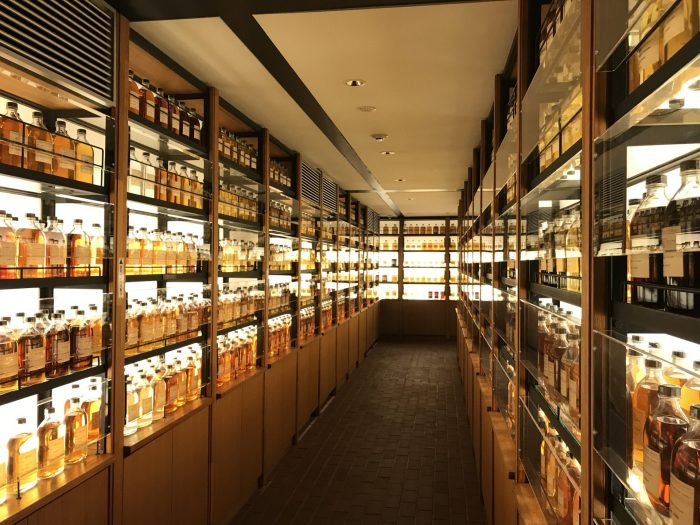 yamazaki distillery whisky library 700x525 - Yamazaki Distillery tour & tasting visit in Japan