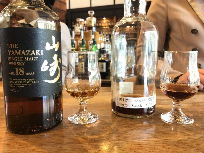 yamazaki tasting room 18 year sherry oak cask 700x525 - Yamazaki Distillery tour & tasting visit in Japan