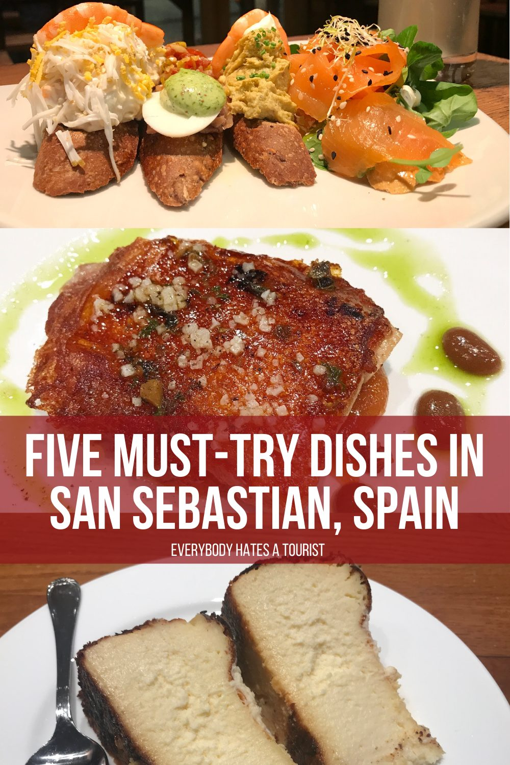 Five must try dishes in San Sebastian Spain - Five must-try dishes in San Sebastian, Spain