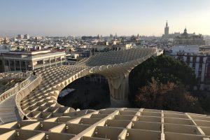 setas de sevilla view 300x200 - Metropol Parasol - Setas de Sevilla, Spain